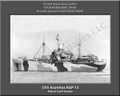 USS Acontius AGP 12 Personalized Ship Photo on Canvas Print