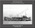 USS Coronis ARL 10 Personalized Ship Photo on Canvas Print