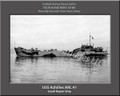 USS Achilles ARL 41 Personalized Ship Photo on Canvas Print