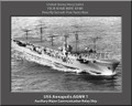USS Annapolis AGMR 1 Personalized Ship Photo 2 on Canvas Print