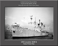 USS Locator AGR 6 Personalized Ship Photo on Canvas Print