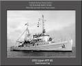 USS Lipan ATF 85 Personalized Ship Canvas Print