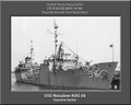 USS Noxubee AOG 56 Personalized Ship Canvas Print Photo  US Navy Veteran Gift