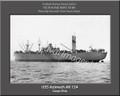 USS Azimech AK 124 Personalized Ship Photo Canvas Print