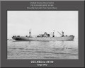 USS Albireo AK 90 Personalized Ship Photo Canvas Print