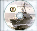 USS Curtis Wilbur DDG 54 Commissioning Program on CD Plank Owner