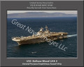 USS Belleau Wood LHA 3 Personalized Ship Canvas Print 2