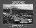 USS Halibut SSGN 587 Submariner Personalized Canvas Print Photo