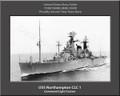 USS Northampton CLC 1 Personalized Ship Canvas Print (2)