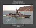 USS O'Callahan FF 1051 Sailor Ship Personalized Canvas Print Photo #2