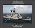 USS Columbus CG 12 Personal Ship Canvas Print Photo US Navy Veteran Gift #3