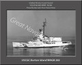 USCGC Burton Island WAGB 283 Personalized Ship Canvas Print