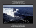 USS Montpelier SSN 765 Submariner Personalized Canvas Print Photo