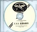 USS Dahlgren DLG 12 Commissioning Program on CD Plank Owner