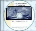 USS Dahlgren DLG 12 Recommissioning Program 1973 on CD Plank Owner
