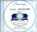 USS Mitscher DDG 35 Commissioning Program 1968 on CD Plank Owner