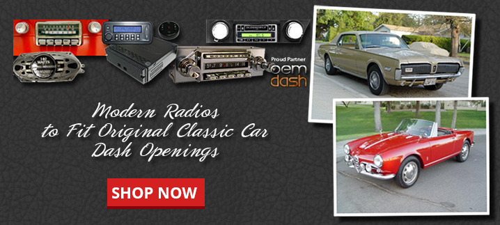 Vintage Car Radio | Modern Stereos for Classic Cars