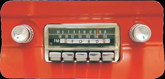 Hidden Antennas Vintage Car Radio