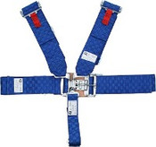 5Pt. Blue Checkerboard Racing Harness