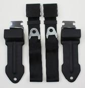 1968-1970 Mopar B Body Bucket Seat Lap Belts