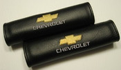 Chevy Seat Belt Pads w/Yellow Chevy Symbol (Call for Prices)