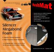 "HushMat Silencer Megabond - 1/4"" - #20200 1"