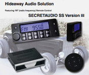 Secret Audio SST W/Bluetooth