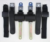 1971-1974 Mopar A Body Manual Shoulder/Lap Seat Belts 1