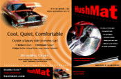 HushMat Ultra Floor/Dash Kit - Black - #10400