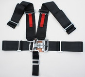 5pt Black 4 Panel Seat Belt  (Call for Prices)