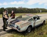 "Danny Johnson Automotive Art ""Busted"""