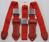 1964-1967 Mopar A Body Bench Seat Lap Belts