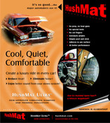 HushMat Ultra Door Kit - Black - #10200