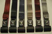 Lap Belts Metal Push Button Lap Belts
