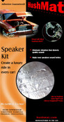 HushMat Ultra Speaker Kit - Black - #10110