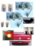 1964-66 LED Sequential Taillight Kit- MP-6466-EX-UB-KIT