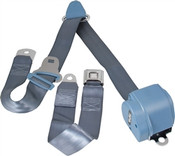 1964-75 GM/Chevy Shoulder Belt System With PB Buckles-Bench