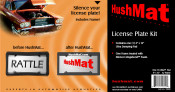 HushMat Ultra License Plate Kit - #10600