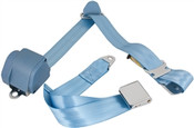 1965-73 Mustang Shoulder Belt Sys w/Aviation-Style Lift Buckles