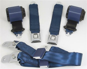 1970-73 Corvette Shoulder Belt System With Single Retractors