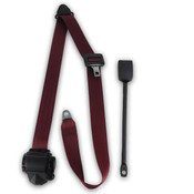 1958-1971 Austin Healey Sprite, Driver & Passenger Seat Belt Kit 3 Point Retractable Lap & Shoulder Seat Belt Kit
