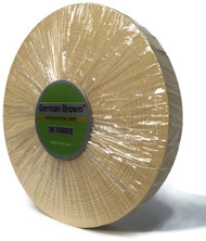 "German Brown Liner Roll 3/4"" x 36 yards"