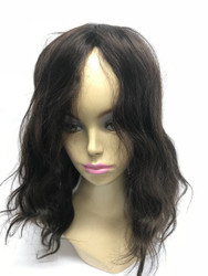 Full Head Wig Glass Silk Front