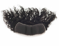 """Remy Hair French PARTIAL Lace Frontals (3"""" x 12"""")"""