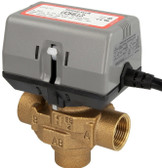 "Honeywell VC6613MH6000 3-way valve 3/4"" IT with limit switch"