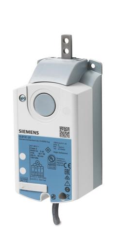 Siemens GLB331.2E Linear air damper actuator, AC 230 V, 3-position, 250 N, 150 s