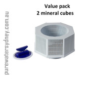 2 x Vitalizer Plus Mineral Cube replacement