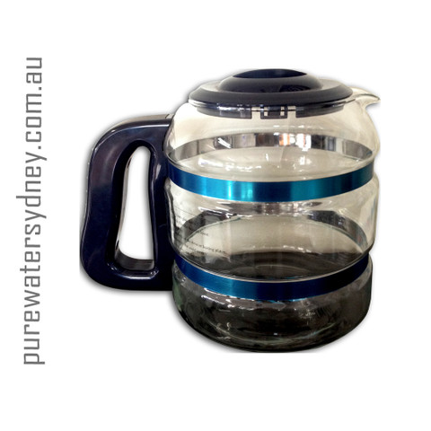 Glass jug for stainless steel water distiller