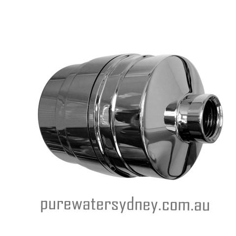 Solid brass chrome finish shower filter