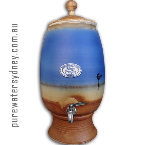 Dark Blue Windmill water purifier